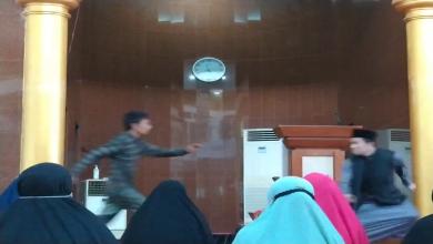 Photo of Ustadz Abu Syahid Chaniago Diserang Saat Ceramah di Masjid Baitussakur Batam