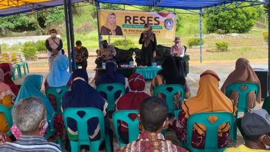 Photo of Kunjungi Enam Pulau, Dewi Gelar Reses dan Salurkan Paket Sembako